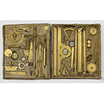 Box of mathematical instruments (Inv. 2532, 2541- 2543, ...)