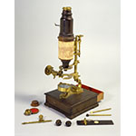 Compound microscope (Inv. 3205)