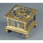 Two-hand pavilion clock (Inv. 3866)