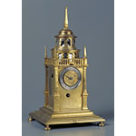Two-hand pavilion clock (Inv. 3865)
