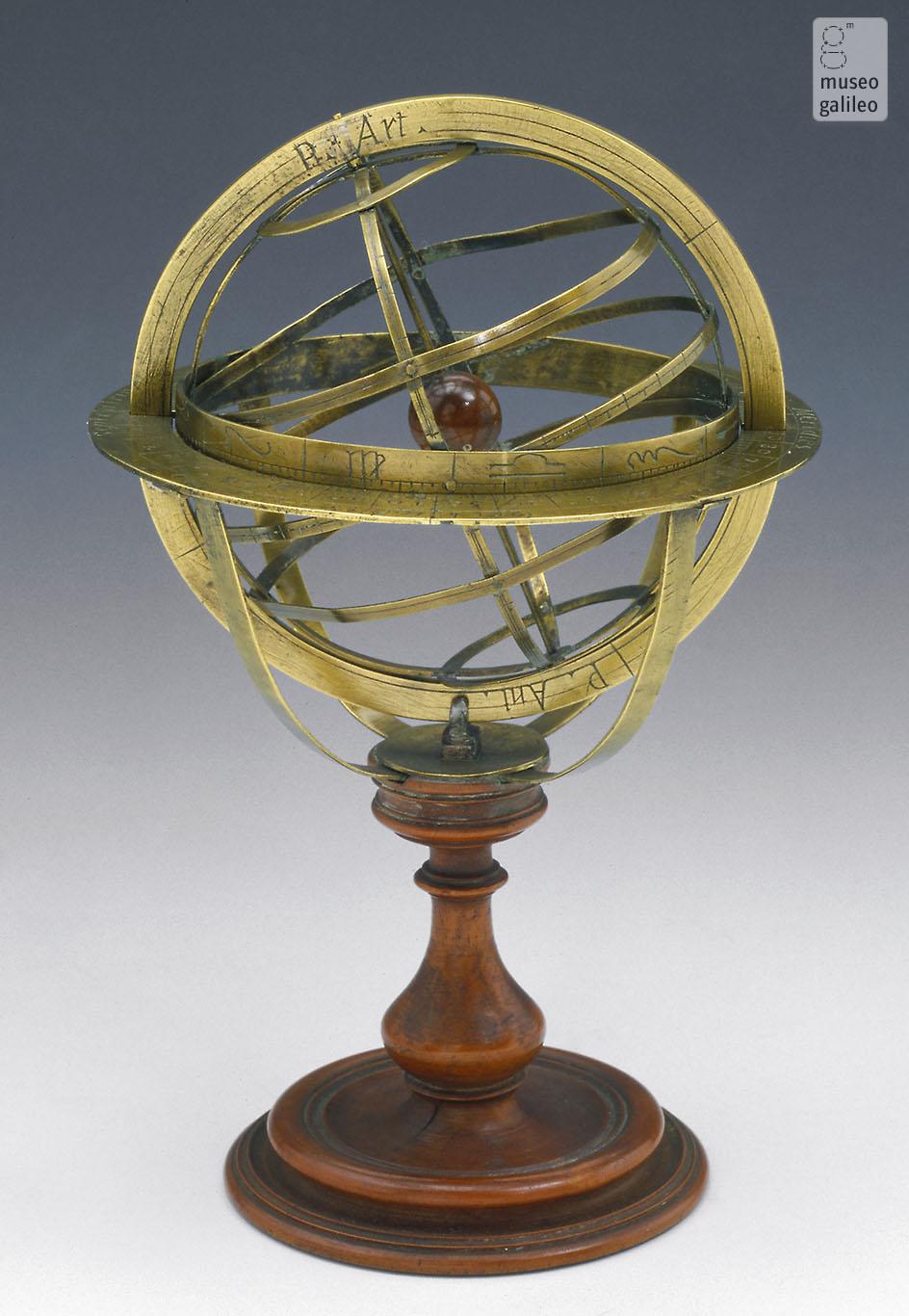 esfera armilar (Inv. 119)